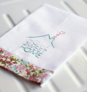 Stitch a simple towel with our free embroidery design - Free embroidery designs for kitchen towels ...
