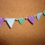 Created by:Amy Cullen  Inspired by:Felt Pennant Garland, Christmas 2011