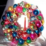 Created by:Nancy Higham  Inspired by:Vintage Ornament Wreaths, Christmas 2011