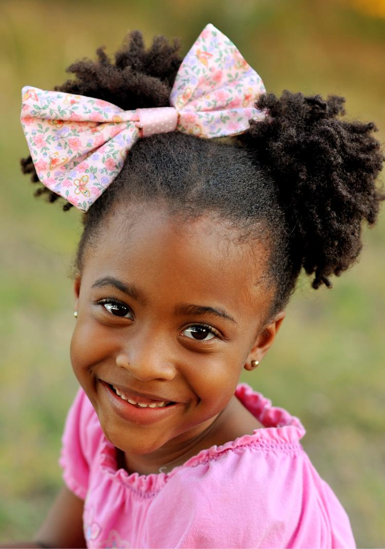 Free Kids Hairbow Sewing Project