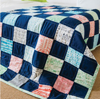 Checkerboard Charms Car Quilt